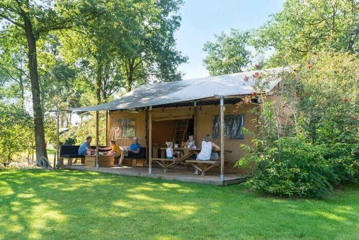 Glamping Camping Lodgetent